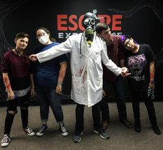 Make sure to check out our Instagram story for behind the scenes content!  @EscapeExperienceNashville Also be on the lookout for our spooky vaccine video tomorrow.... #spooky #thriller #horror #escape #escaperoom #nashville #nashvilletn #virus #getready #areyouafraidofthedark #gasmask  #doctor ?