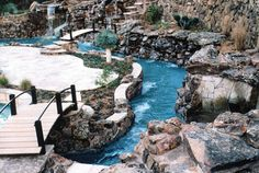 just  a little lazy river, pool and waterfall....