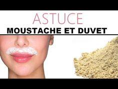 Épilation définitive de la moustache et du duvet avec de la farine - YouTube