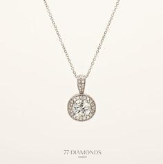 The 'Visconti' #diamond #necklace @77 Diamonds