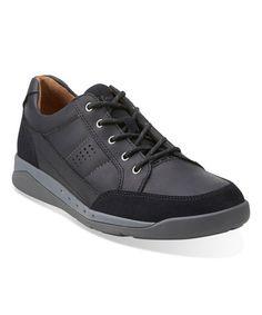 Look what I found on #zulily! Black Unpierce Time Leather Sneaker #zulilyfinds