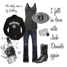 Jack Daniels, created by xrebelxchildx on Polyvore