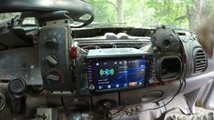 Latest Dodge RAM – Installing a radio in a pickup truck – 55573 Young America MN March Installing a modern GPS radio in a 1999 Dodge ram 2500 pickup… Dodge Cummins, Dodge Ram 2500, Dodge Trucks, Pickup Trucks, Pick Up, Things To Buy, America, Shipping Containers, March
