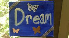 Dream  8x10 mixed media canvas wall art by GrottoFae on Etsy