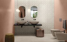 MODERNÁ KÚPEĽŇA - Trendové obklady do kúpeľne / BENEVA Modern Floor Tiles, Wall And Floor Tiles, Wall Tiles, Coral Walls, Home Improvement Show, Farmhouse Laundry Room, Tile Design, Concrete, Modern Design