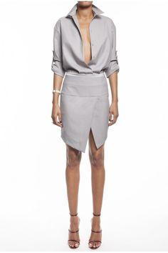Alexandre Vauthier, Asymmetric Skirt