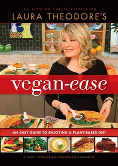 Win a copy of Vegan-Ease by Laura Theodore + get her 4-Ingredient chocolate chip cookie recipe!