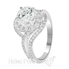 Mang lại vẻ đẹp thật độc đáo, chiếc nhẫn kim cương này sẽ làm bạn tỏa sáng khi hẹn hò cùng chàng. Hãy đến với showroom của HungPhatUSA để sở hữu nét đẹp tuyệt vời này bạn nhé