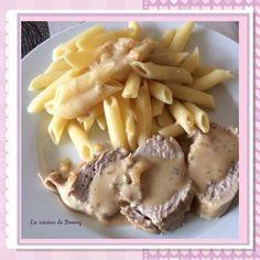 Filet mignon de porc au boursin (Cookeo) Filet Mignon Sauce, Filet Migon, Mashed Potatoes, Cooking, Filets, Parfait, Ethnic Recipes, Marie, Food