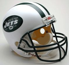 NEW YORK JETS FULL SIZE REPLICA FOOTBALL HELMET