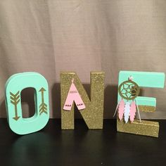 Adorable boho,wild one  One word Great for cake smash,photo props,birthday decoration  Created and design by yours truly