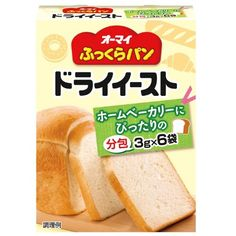Oh my plump bread dry yeast (sachets) 3gX6 bags X6 pieces