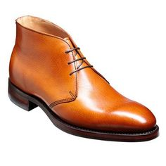 Barker Orkney Cedar - Mens Shoes This elegant Chukka boot is constructed on Barkers 464 last shape. This gentleman's shoe is from Barkers Country collection and would look fantastic with a variety of trousers colours.The Barker Orkney has a three eyelet fastening with the traditional barker branding on sole. All Barker English shoes are Goodyear welted and hand crafted from the finest Leathers and materials, the Barker Orkney comes with an extra sturdy 10mm Dainite sole. Order yours o...