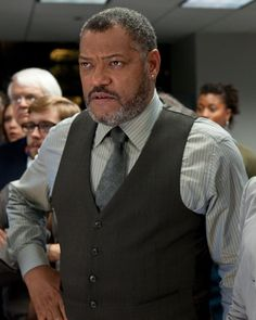 PERRY WHITE - Laurence Fishburne