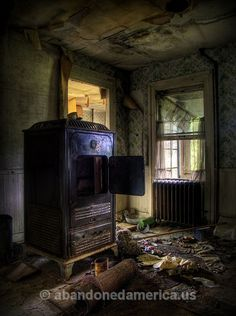the estes estate, upstate new york - photographs by matthew christopher murray of abandoned america