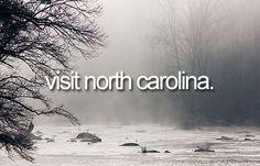 Visit North Carolina | Bucket List