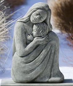 Mother and Child Statuary