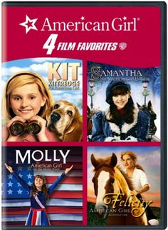 American Girl 4-DVD Set Sale: $10.96! {check a gift off the list!}