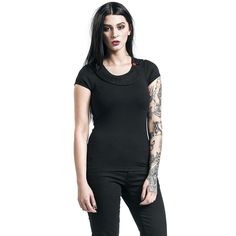 """Maglia donna """"Black Stories"""" del brand #PussyDeluxe."""
