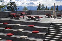 Il Solarium del Virgilius Hotel a Lana (Alto Adige)