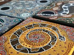 10 of the Most Common Aboriginal Art Symbols Aboriginal Art Symbols, Aboriginal Culture, Aboriginal Artists, Symbols Of Strength, Popular Art, Indigenous Art, Australian Artists, New Artists, Limited Edition Prints