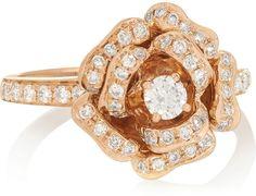 Anita Ko 18-karat rose gold #diamond ring