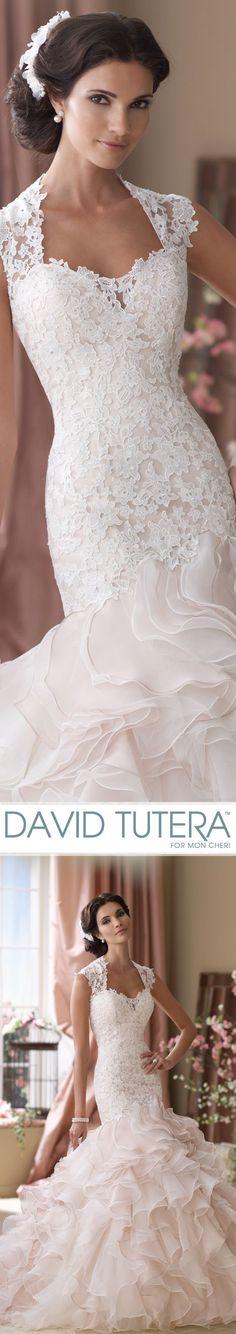 Style No. 114276 ~ Crawley Wedding Dresses 2014 Collection – Venise lace… #laceweddingdresses