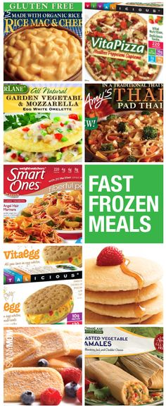 Delicious and healthy frozen meals for those nights you're in a hurry!