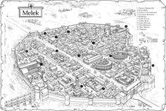 rpg map maps fantasy town castle gaming village midlands melek concept low cartes carte dragon marque imaginaire ファンタジー plans landscape