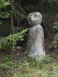 Der grosse Markmann, ein mittelalterlicher Grenzstein oder doch ein Menhir (Mittelfranken)