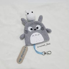 ♡TOTORO♡~^O^~ KEY HOLDER #totoro #keyholder #doll#handmade#amigurumi#crocheting#hobby#crocheter#crocheteveryday #crafting #crochetfun #crocheted #gift#cute#work#amigurumilove#crochetlove