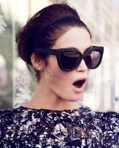 Linda Farrow cat sunglasses - I WANT THESE BADLY!!! x