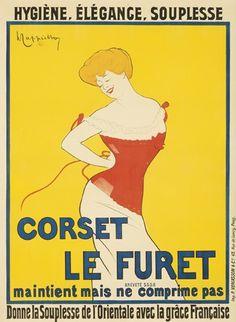 Corset le Furet by Leonetto Cappiello (1901)
