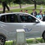 carro eléctrico Hyundai Blue One