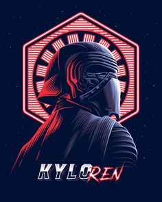Trending Colors, digital art, top graphic Inspiration 2019 by Alekseyrico Kylo Ren Star wars Best Creative design Illustration. Trending Colors, digital art, top graphic Inspiration 2019 by Alekseyrico Star Wars Fan Art, Star Wars Film, Star Wars Cute, Star Wars Kylo Ren, Star Wars Poster, Kylo Ren Wallpaper, Star Wars Wallpaper, Star Wars Pictures, Star Wars Images