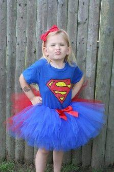 Disfraces infantiles originales - Disfraz de Supergirl