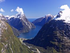 New Zealand, Milford Sound......I've been to Doubtful Sound, which is very much like this.....I am told Doubtful is better too!!
