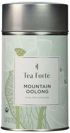 Tea Forte Lotus MOUNTAIN OOLONG Loose Leaf Organic Oolong Tea, 2.47 Ounce Tea Tin => Check out this great image  : Fresh Groceries