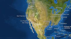 How Earth's coastlines would look if all ice melted