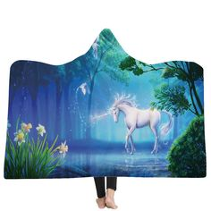 Hooded Blanket Colorful Turtle Pattern Underwater World Print Luxuy Thickened Hypoallergenic Sherpa Fleece Blanket Ultra Soft and Warm Winter TV Computer Throwing Blanket for Adults /& Kids