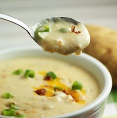 Crock-Pot Potato Soup-Gluten Free, while we aren't gluten free here yet this recipe sounds really good and easy.