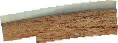 "Curiosity sol 107 mastcam R SUBFRAME Data Product 13640 x 5076 pixel - ""fog"" - ""Courtesy NASA/JPL -Caltech"" processing 2di7 & titanio44"