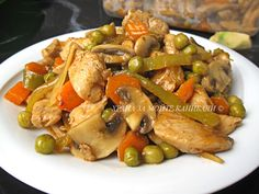 Храна за мойте канибали: Пилешки хапки с джинджифил и сладко-кисел сос