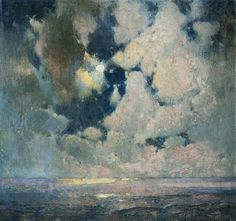 Sören Emil Carlsen  Ocean at Sunrise