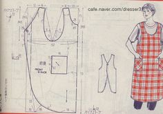 Apron Expansion Pack for York Pinafore (PDF) – Helen's Closet Sewing Aprons, Sewing Clothes, Diy Clothes, Clothing Patterns, Sewing Patterns, Sewing Crafts, Sewing Projects, Make Your Own Clothes, Linen Apron