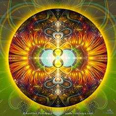 Original Mandala Abundancia abondance spirituel Psy par Pumayana