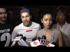 Varun Dhawan & Alia Bhatt visits PVR ECX to see audience reaction towards Badrinath Ki Dulhania.