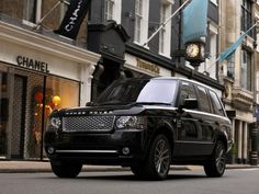 2011 Range Rover Autobiography Black - Front Angle View