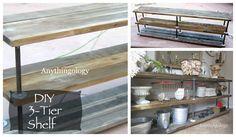 Cynthia Banessa | 7 Amazing DIY Industrial Shelving | http://cynthiabanessa.com
