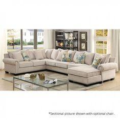 Furniture Of America,Skyler Sectional Sofa - CM6156 In $1573